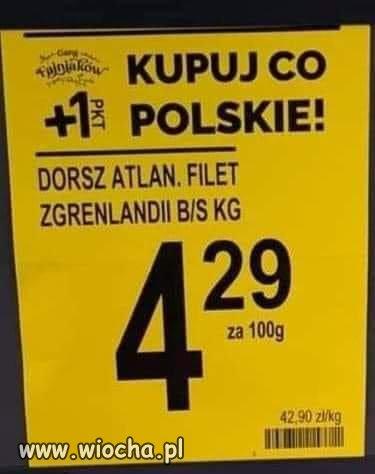 Polski dorsz.