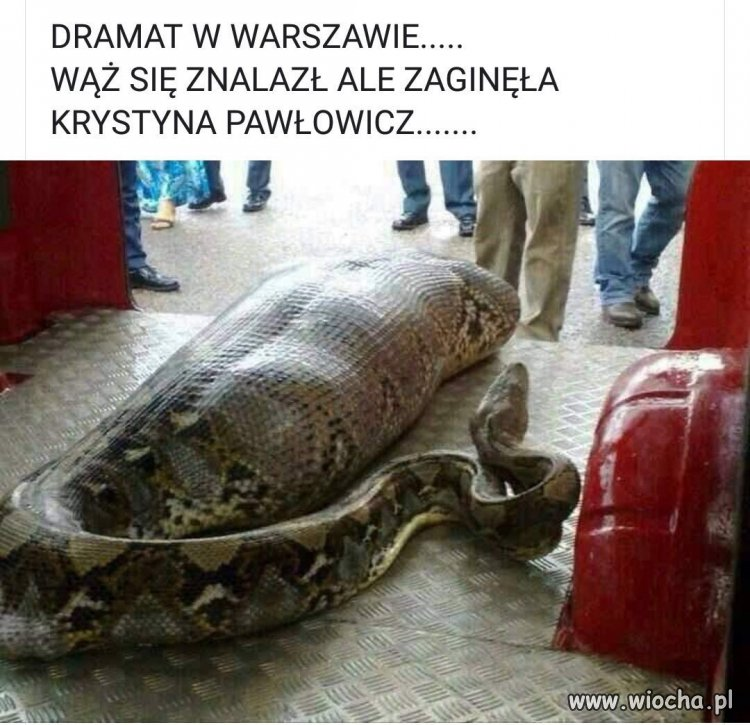 Dramat w Warszawie