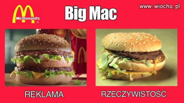 Big Mac z McDonalda...
