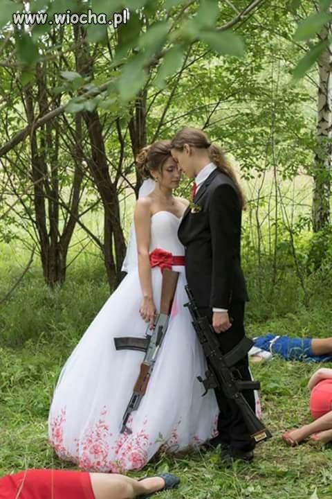 Takie ślubne.