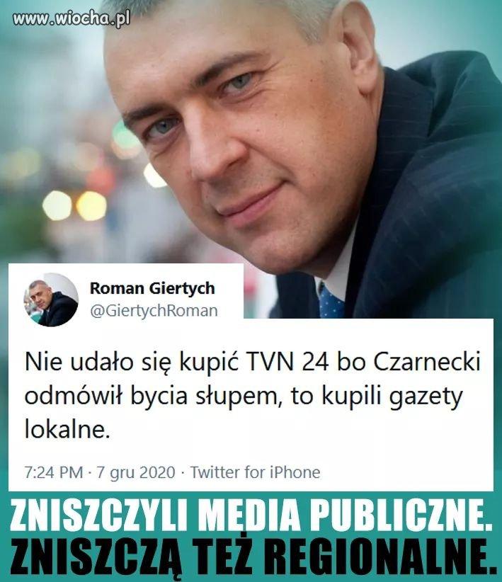 Zniszczyli media publiczne