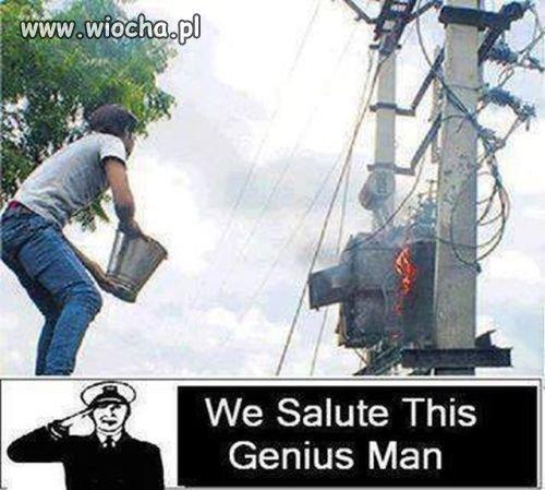 Geniusz w czystej postaci