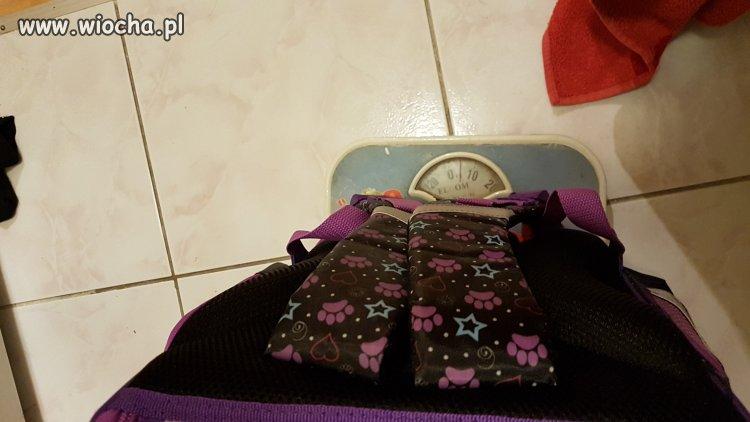 5-cio kilowy plecak, pierwszo klasisty