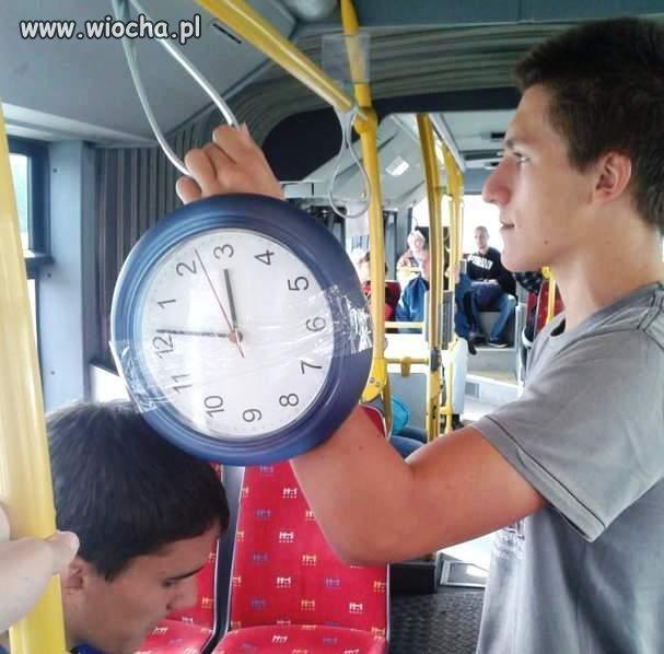 Zegarek najnowszej generacji.
