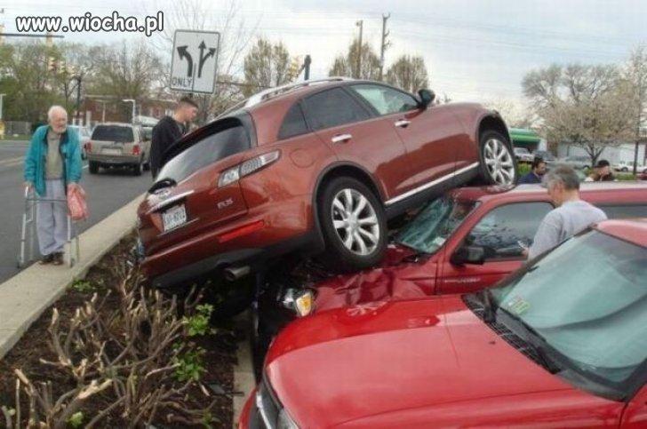 Nie ma to jak po mistrzowsku zaparkować auto