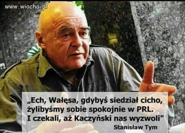 Bo taka jest prawda...najpierw Wałęsa