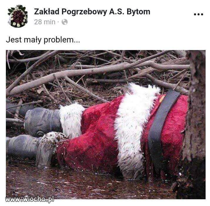 Reklama mało świąteczna