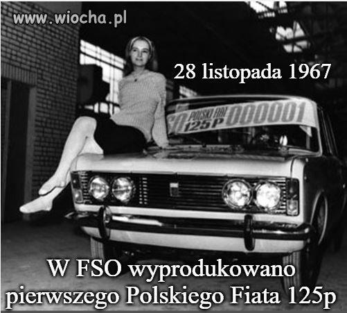 Urodziny Polskiego Fiata 125p