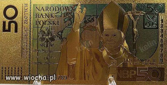 Idealny czas na promocje banknotu z wizerunkiem JP
