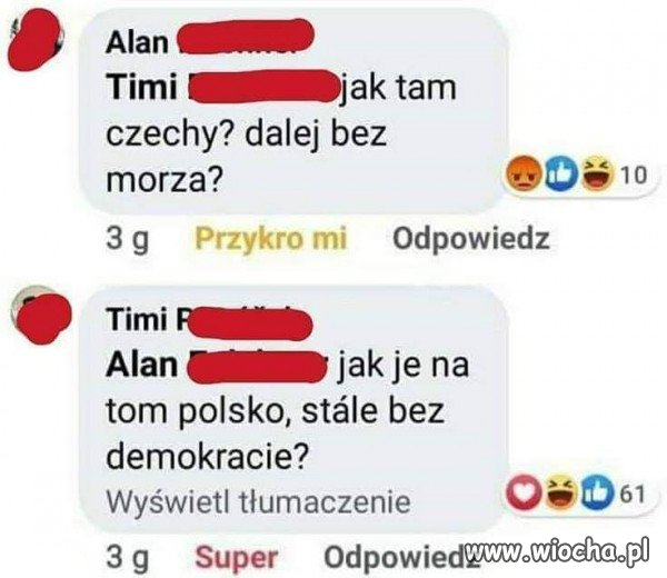 Zaorane po Czesku