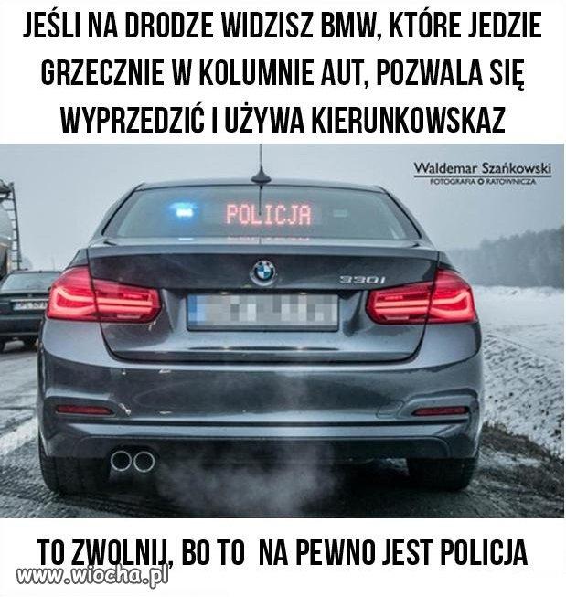 Przepisowe BMW