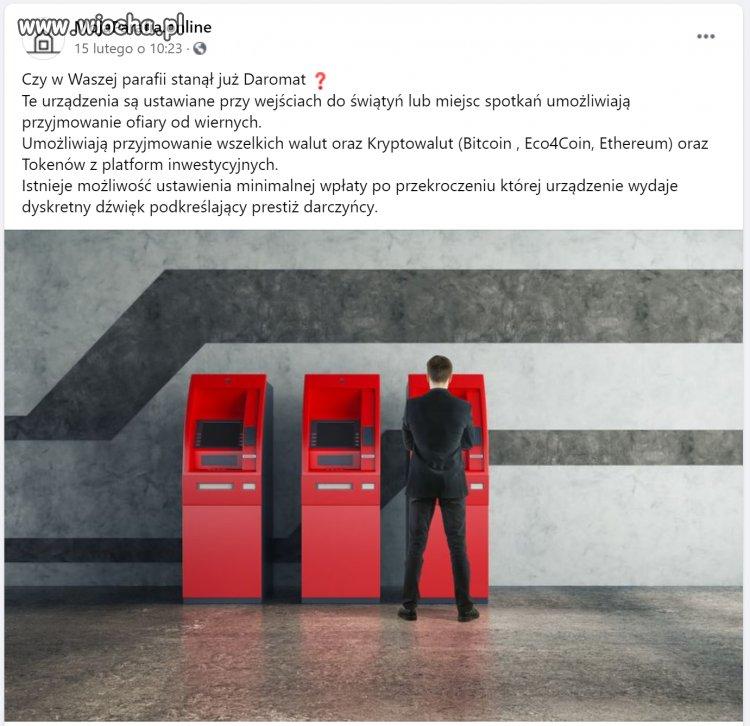 ETaca w kryptowalutach