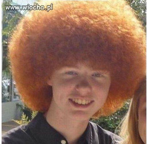 Stylowa fryzura