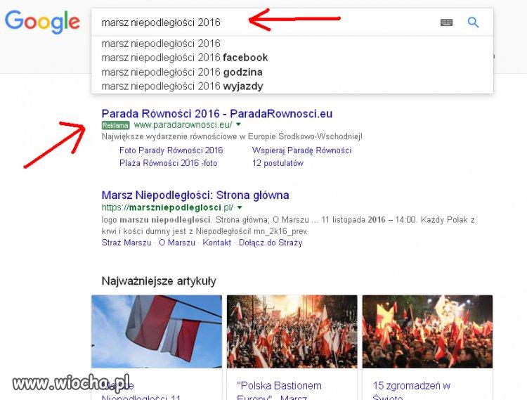 Wyniki wyszukiwarki