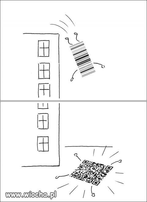 Ewolucja kodu kreskowego