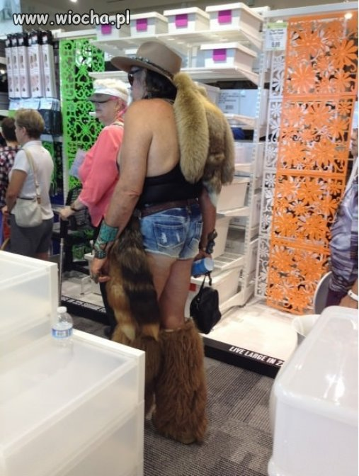 Powraca moda na futra.