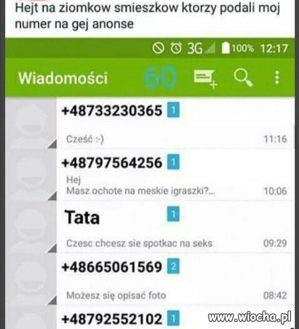 SMS od
