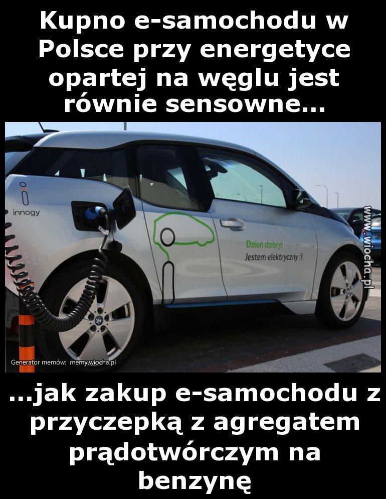 Milion e-aut Morawieckiego  to czysta mrzonka