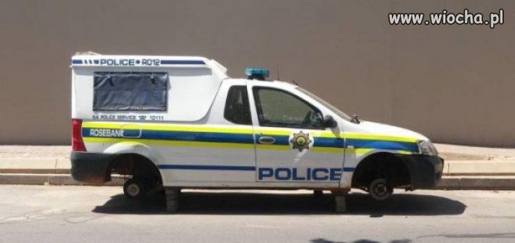Czujni policjanci.