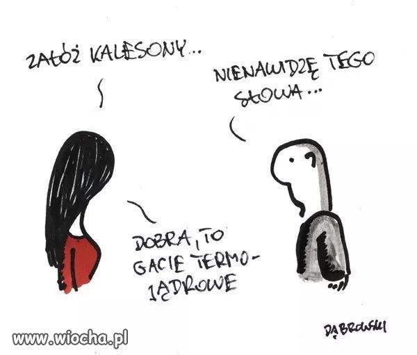 Kalesony...