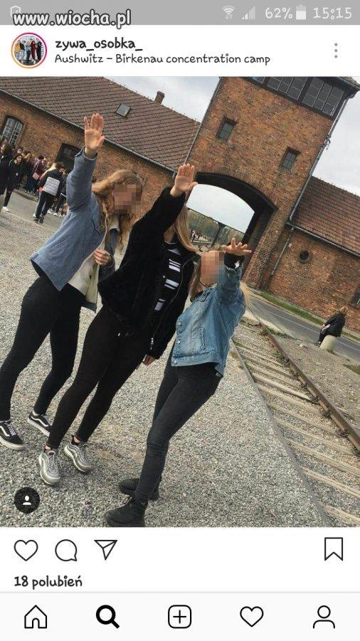 Żabolki w Auschwitz