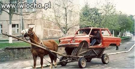 Ekologiczne auto.
