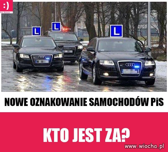 Dla bezpieczeństwa Polaków powinni jeździć z takimi