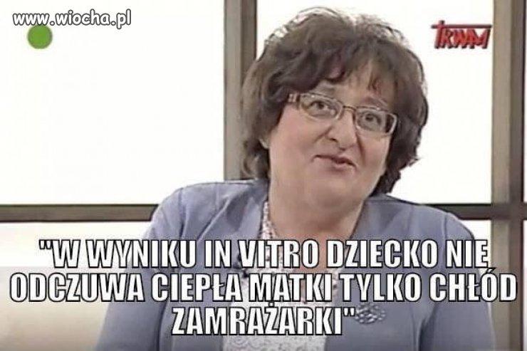 """Kolejna pisuarowa """"ekspertka"""""""