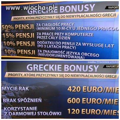 Greckie bonusy