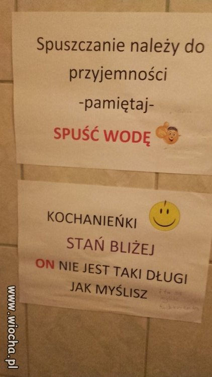 Info w wc