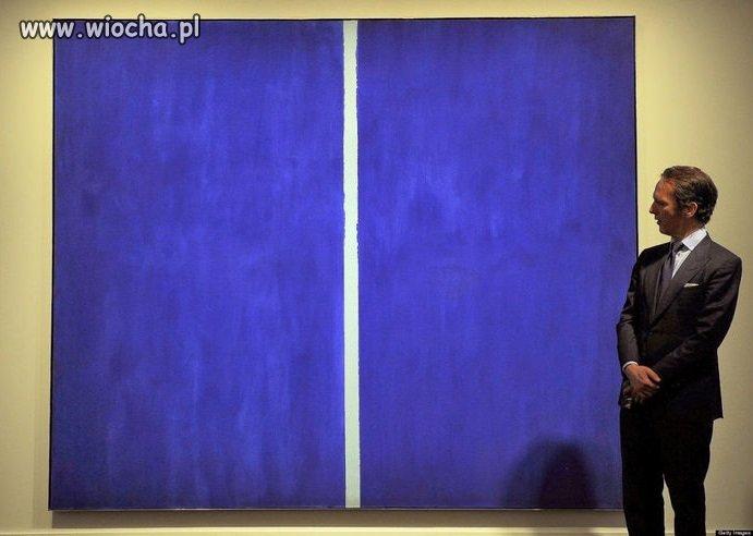Ten obraz sprzedano za 43,8 mln $.