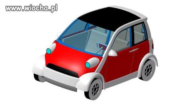 Model polskiego auta elektrycznego.