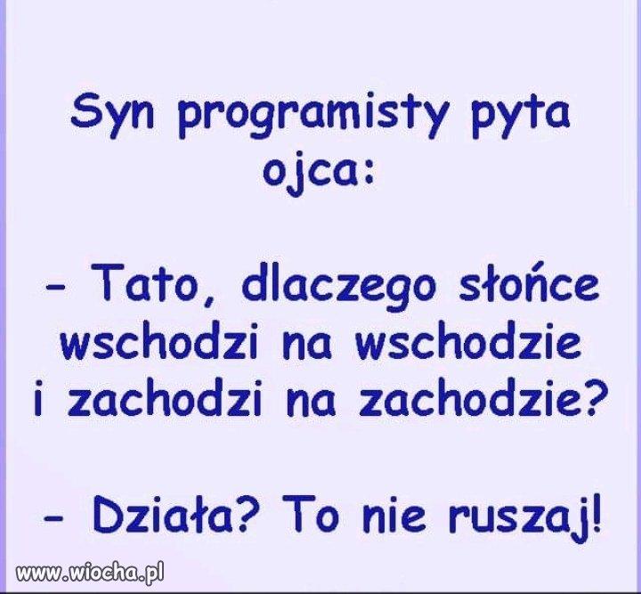 Syn programisty