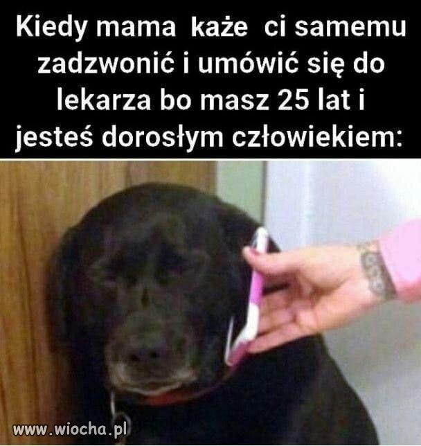 Kiedy mama każe