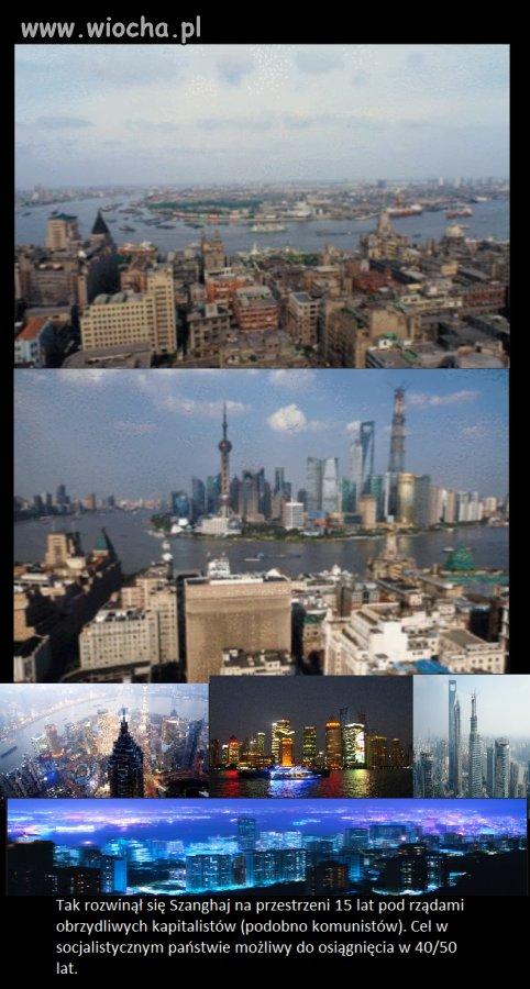 Szanghaj w Chinach