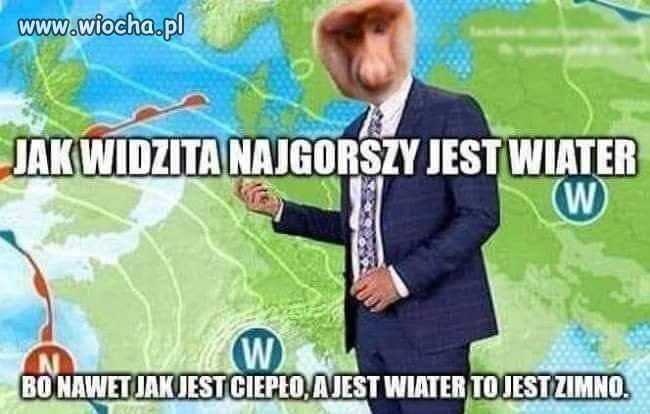 Prognoza pogody.