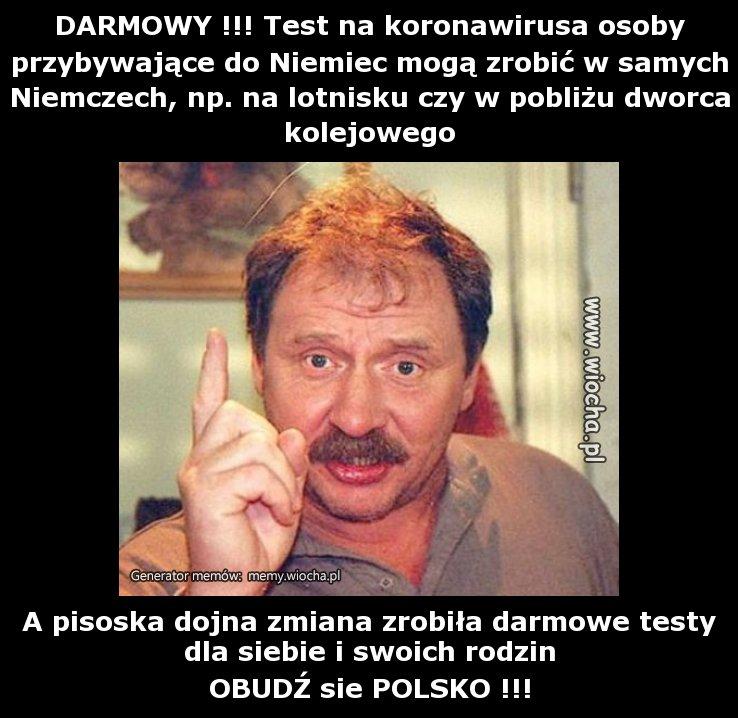 DARMOWY !!! Test na koronawirusa osoby