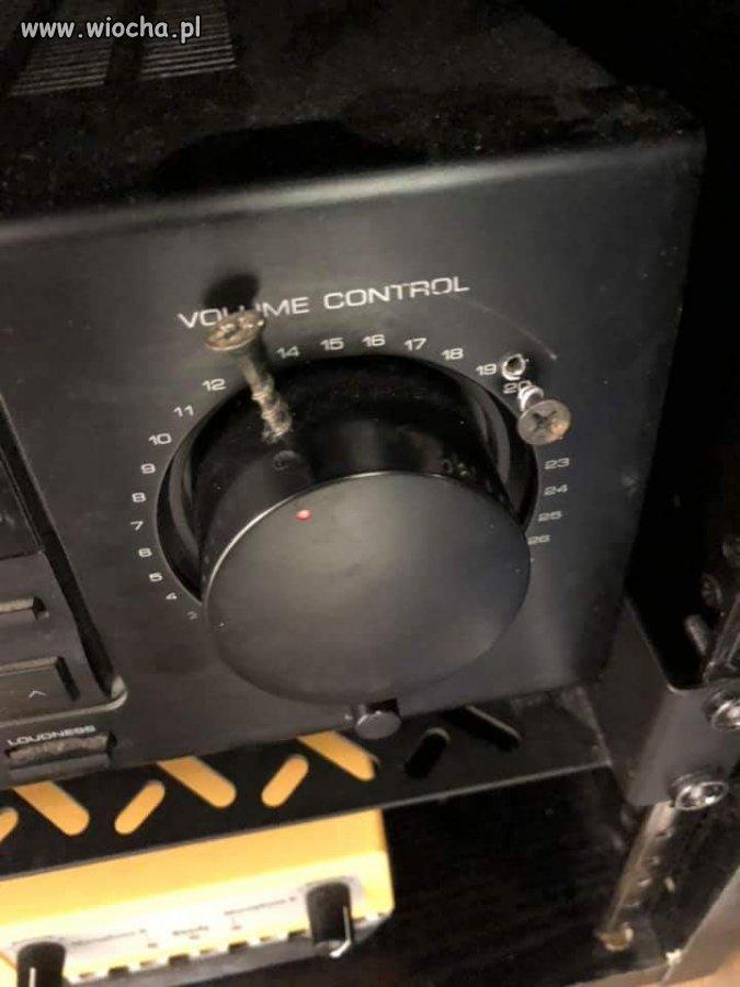 Volume control.