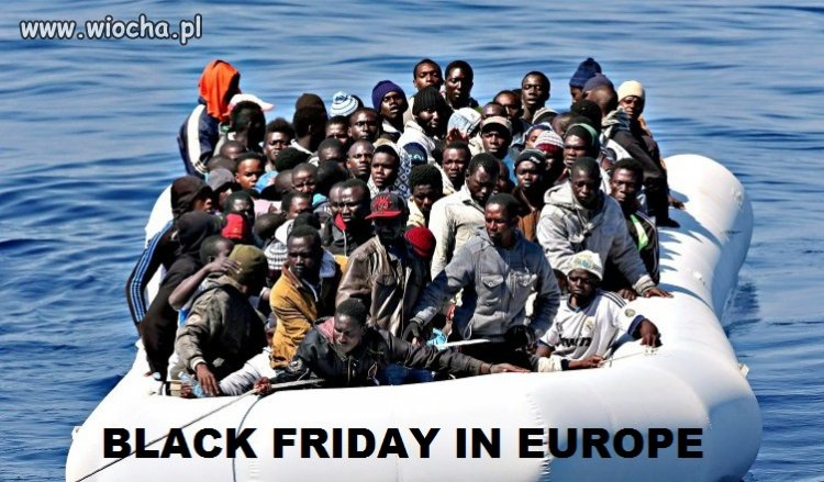 Czarny piatek w europie