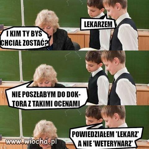 Nauczyciel uczeń