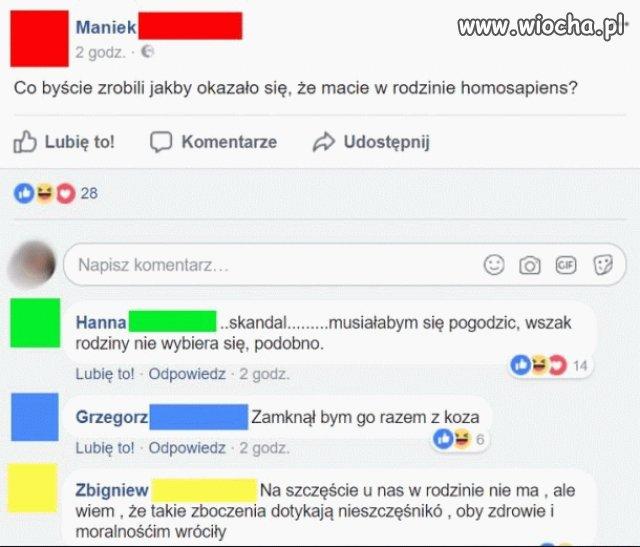 Homosapiens w rodzinie