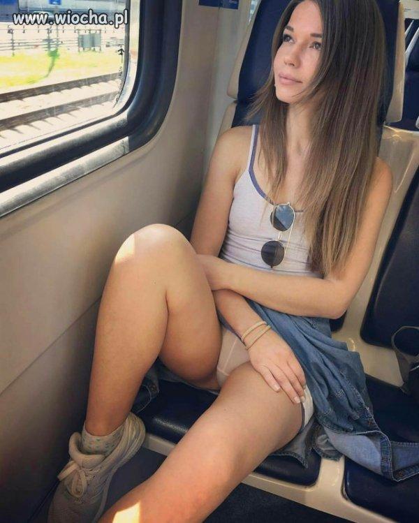 Takie tam w pociągu