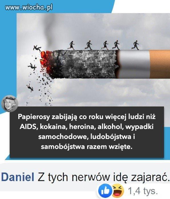 Szkodliwe papierosy